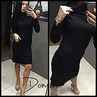 Платье по фигуре с карманами 080 (НР)