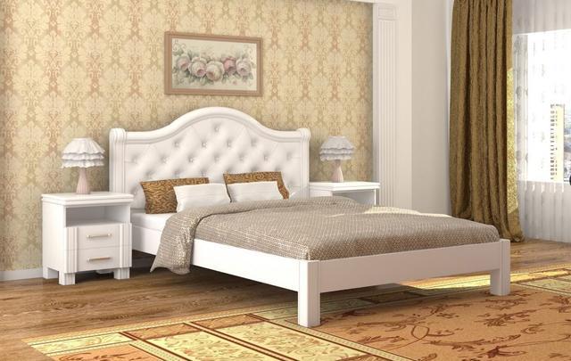 Кровать Екатерина белый