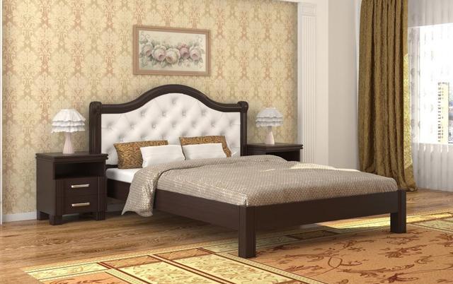 Кровать Екатерина венге