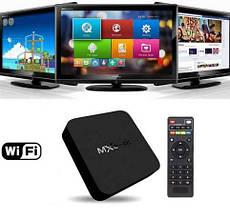 Приставка смарт ТВ Android Smart TV MXQ PRO 4K, смарт приставка до телевізора TV BOX Internet TV t4
