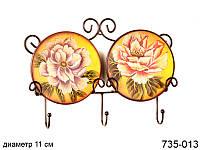 "Набор декоративных тарелок ""Цветы"" 735-013"