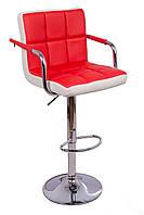Барные стулья с подлокотниками двухцветный, фото 1