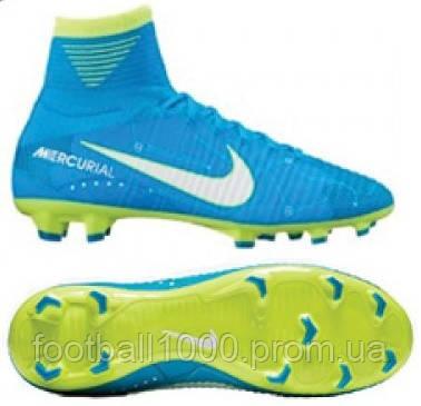Детские футбольные бутсы  Nike Mercurial Superfly V DF Neymar FG 921483-400