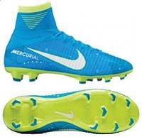 Детские футбольные бутсы  Nike Mercurial Superfly V DF Neymar FG 921483-400, фото 1