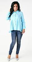 Стильная элегантная блуза Aqua