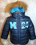 Детский зимний комбинезон+куртка,26,28,30,32 р. (натуральная опушка), фото 4