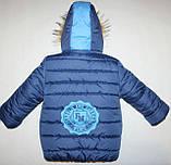 Дитяча куртка на хлопчика 26,28,30,32 р., фото 3