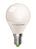 EUROELECTRIC LED Лампа G45 5W E14 4000K
