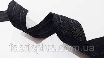 Корсаж  с  резинкой  2.5 см  черный