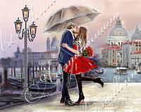 """Схема для частичной вышивки бисером """"Венецианская любовь"""""""