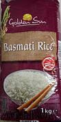 Крупа Golden Sun Basmati Rise, рис, 1 кг (Италия)