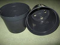 Горшки пластиковые 1.3 литра 14 диаметр