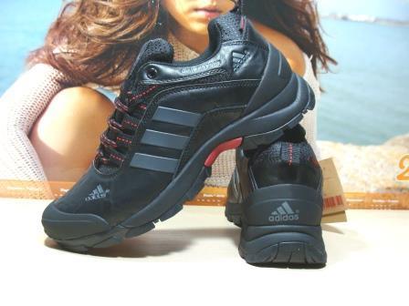 Мужские кроссовки Adidas climaproof (реплика) черные 44 р.
