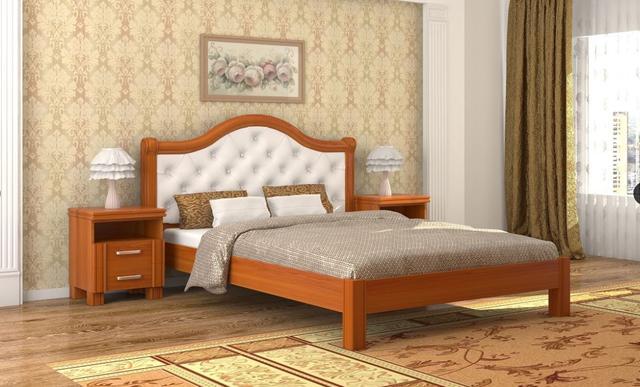 Кровать Екатерина вишня