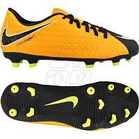 Детские футбольные бутсы Nike Jr Hypervenom Phade III FG 852580-801, фото 1