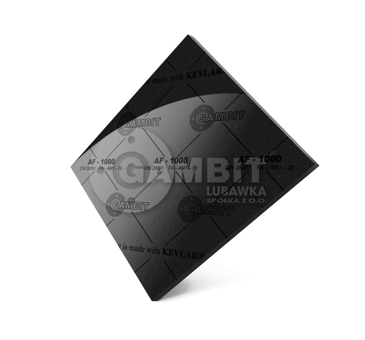 Паронит безасбестовый Gambit AF-1000 (аналог - паронит ПА армированный)