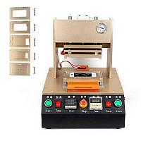 Автоматическая пресс-машина для фиксации дисплейных рамок (со встроенным компрессором)