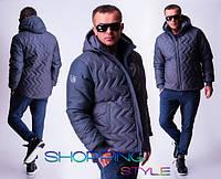 Мужская зимняя куртка на флисе,супер качество!