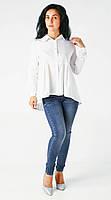 Стильная элегантная блуза Snow white