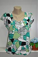 Хлопковая женская футболка , фото 1