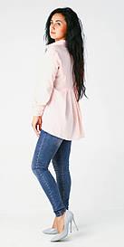 Стильная элегантная блуза Malibu peach