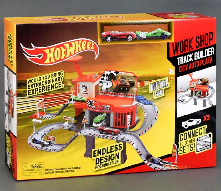 Игрушка детский гараж Hot Wheels. Игровой набор Хот Вилс.