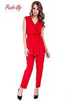 Красный костюм Suavite, фото 1