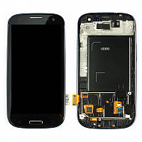 Дисплей Samsung Galaxy S III GT-I9300 Original comlete with frame Black 100%