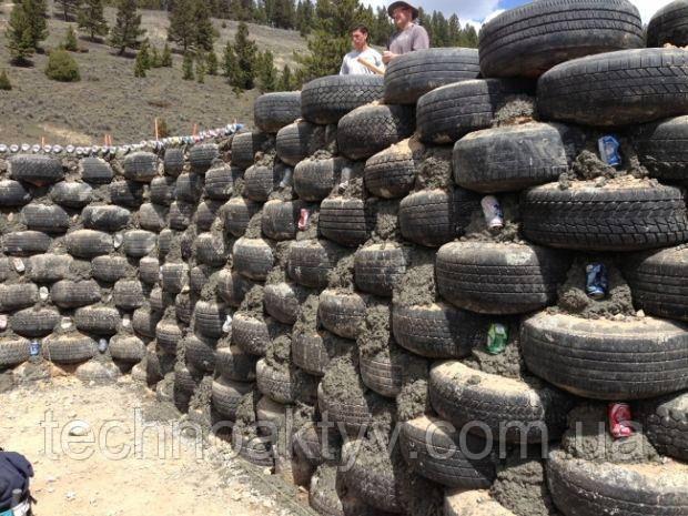 Тихие и долговечные дороги из переработанных шин
