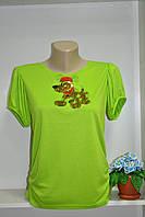 Модная ,стильная летняя футболка для девушки, фото 1
