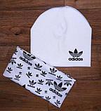 Детский набор шапочка+шарф(хомут)двойной трикотаж!, фото 3