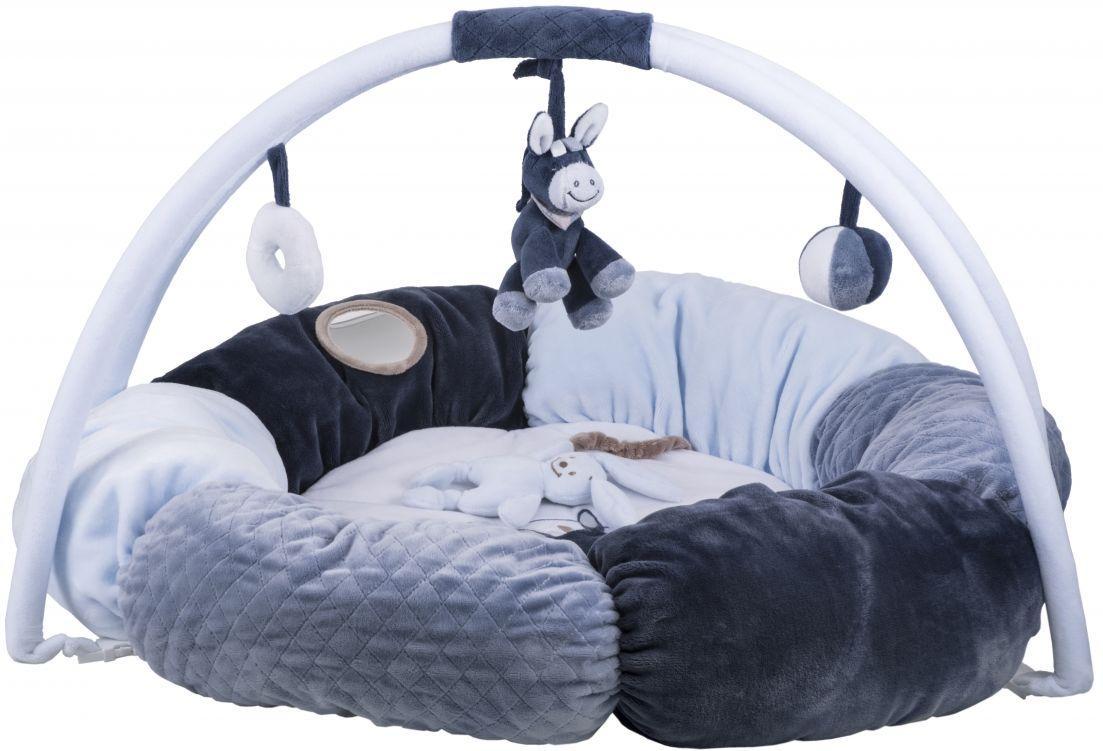 Развивающий коврик с дугами и подушками Алекс и Бибу Nattou  321259