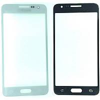 Стекло дисплея Samsung Galaxy A3 SM-A300F White (для переклейки)