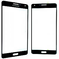 Стекло дисплея Samsung Galaxy A7 SM-A700 Black (для переклейки)