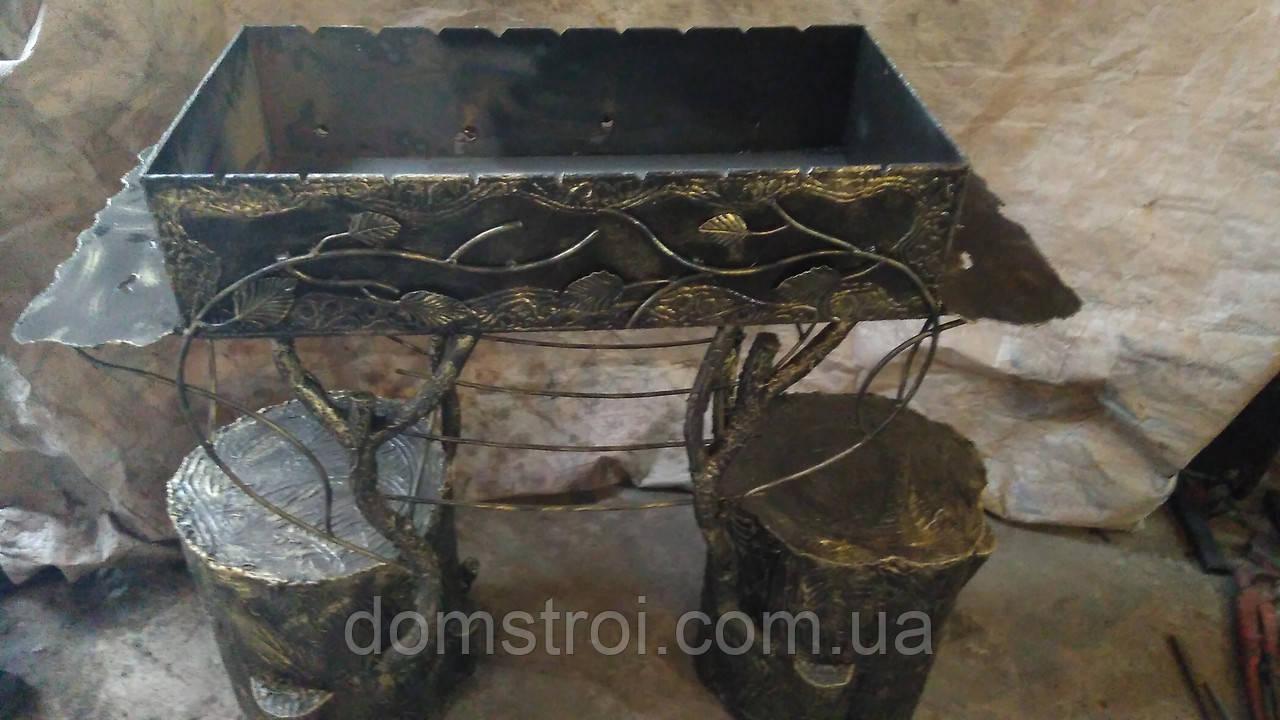 Мангал декоративный (ручной работы)