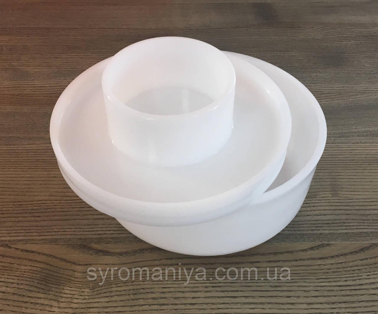 Форма для сыров с поршнем до 2,5 кг