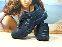Мужские кроссовки Adidas terrex swift (адидас) синие 41 р.