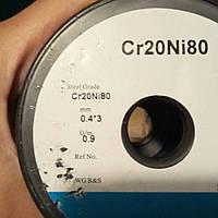 Х20Н80 лента 0,4х3мм.