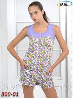 Комплект женский майка и шорты