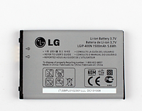 Оригинальный аккумулятор (АКБ, Батарея) LGIP-400N для LG GX300 GX500 GM750 GT540 GW620 P500 P509 P520 MS690
