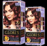 Краска Gloris мини  3.4 Гранатовый