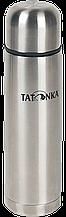 Практичный термос Tatonka H&C Stuff объемом 0.35 л из нержавеющей стали, цвет стальной/черный TAT 4148.000
