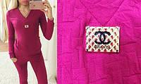 Женский спортивный костюм Chanel ,размер 42-44!жакардовый трикотаж