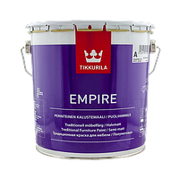 Краска для мебели Tikkurila Empire Тиккурила Эмпире, 2,7 л