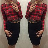 Женский костюм кофта+юбка,размер 42-44!Разные цвета!, фото 2