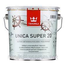 Лак Tikkurila Unica Super Тиккурила Уника Супер полуматовый 2,7 л