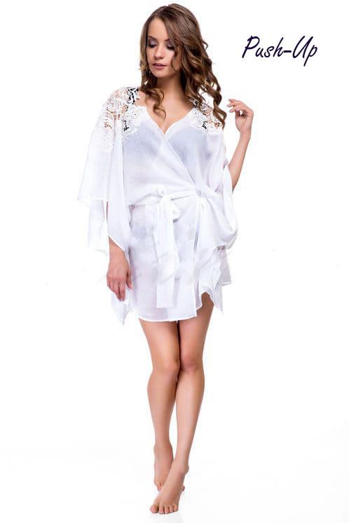 Пляжный халат с кружевом Suavite 116262