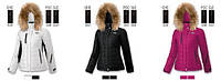 Стеганая зимняя куртка с мехом для женщин BRUGI