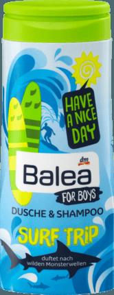 """Шампунь-гель для душа для мальчиков """"Серфинг"""" Balea 300 ml"""