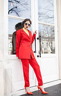 Женский костюм брюки+пиджак,ткань мемори!Разные цвета!